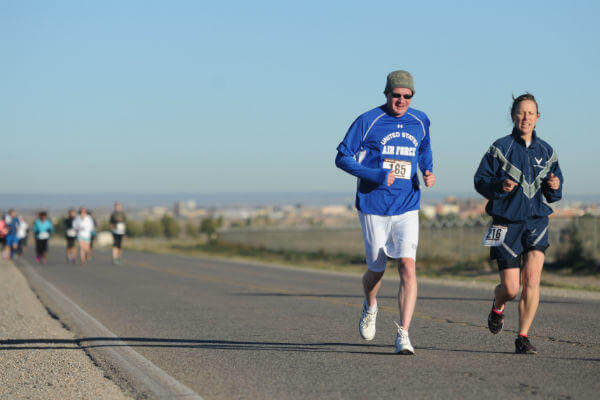 Air Force Wounded Warrior half marathon
