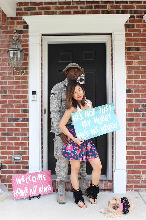 Deployment homecoming