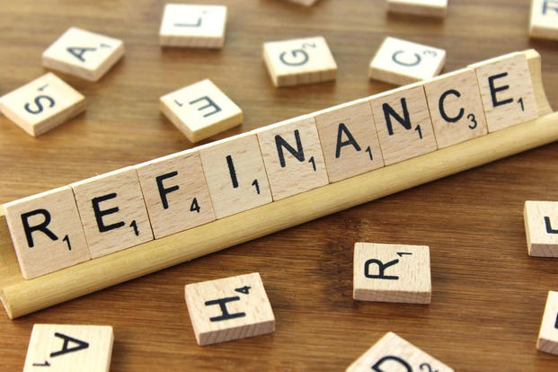 "Scrabble tiles spelling out ""Refinance"" (Photo: Creative Commons/Nick Youngson; CC BY-SA 3.0)"