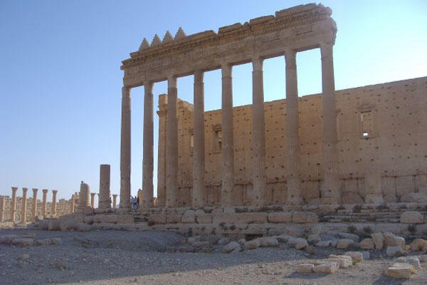 Palmyra historic site in Syria.