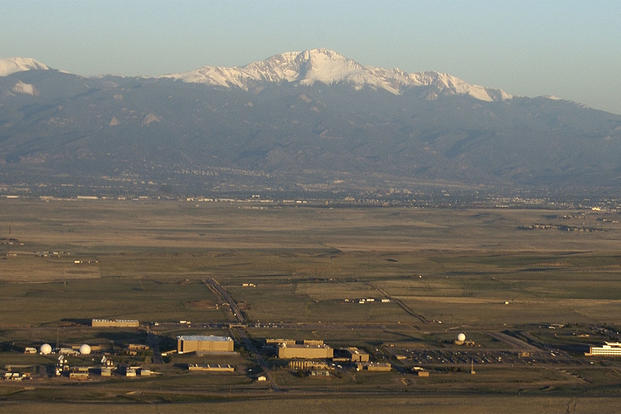 By 2005, there were 69 buildings on Schriever Air Force Base, which occupied more than 4,100 acres. The base was renamed in honor of Gen. Bernard Schriever in 1998 and was the first base to be named for a living individual. (Air Force/Courtesy Photo)