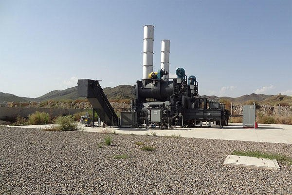 Two 8-Ton Capacity Incinerators Sit Never-Used at FOB Salerno.
