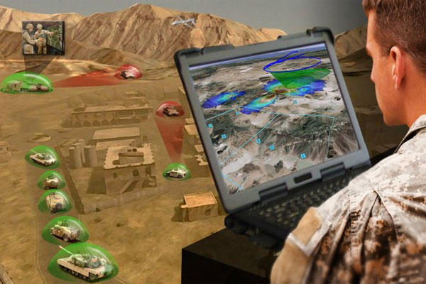 The Electronic Warfare Planning and Management Tool, which is being developed, will allow for greater control and enhancement of electronic warfare capabilities. (U.S. Army photo)
