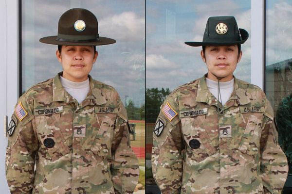 --The uniform survey also asks about proposed changes to Army drill sergeant campaign hats that include switching to a single campaign hat for both male and female drill sergeants.