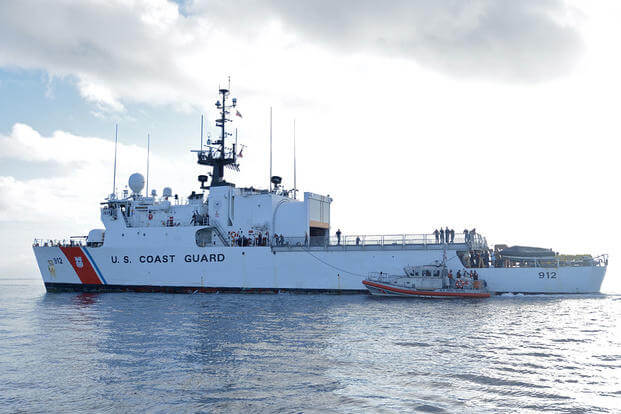 USCGC Legare (Photo: U.S. Coast Guard)