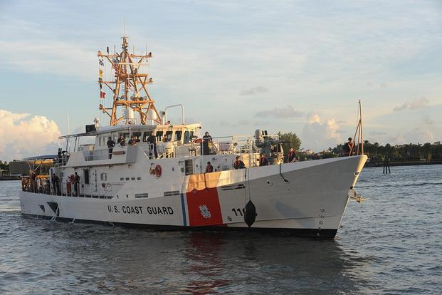 Coast Guard Cutter William Flores. (U.S. Coast Guard photo by Petty Officer 3rd Class Sabrina Elgammal)