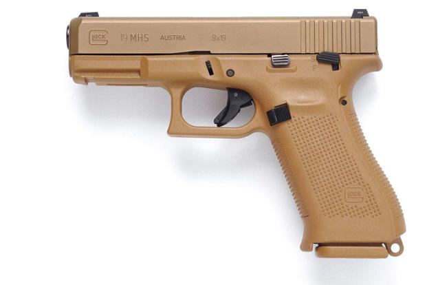 Glock Inc.'s Model 19 pistol, which was entered into the Army's Modular Handgun System competition.  (Photo: Glock Inc)