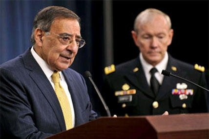 Panetta with Dempsey