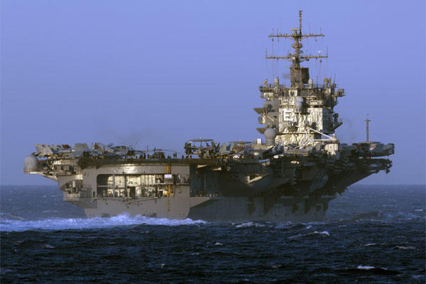 Navy To Give Final Farewell To Uss Enterprise At