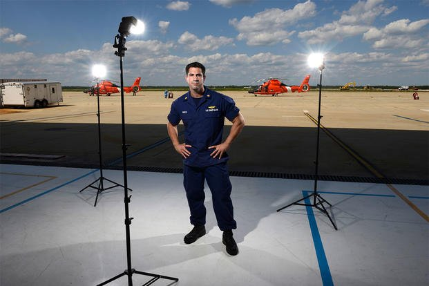 U.S. Coast Guard Petty Officer 1st Class Chris Razoyk, a rescue swimmer at U.S. Coast Guard Air Station Atlantic City, N.J., has a passion for photography. (Photo: U.S. Coast Guard)
