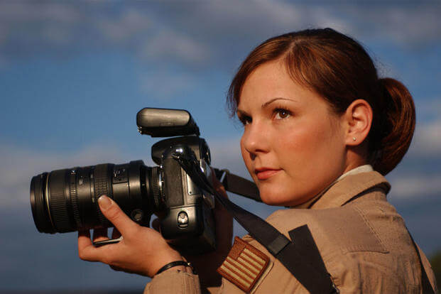 Staff Sgt. Stacy Pearsall was named the 2007 Military Photographer of the Year out more than 1,700 submissions from other photographers. (U.S. Air Force photo/Staff Sgt. Bethann Caporaletti)