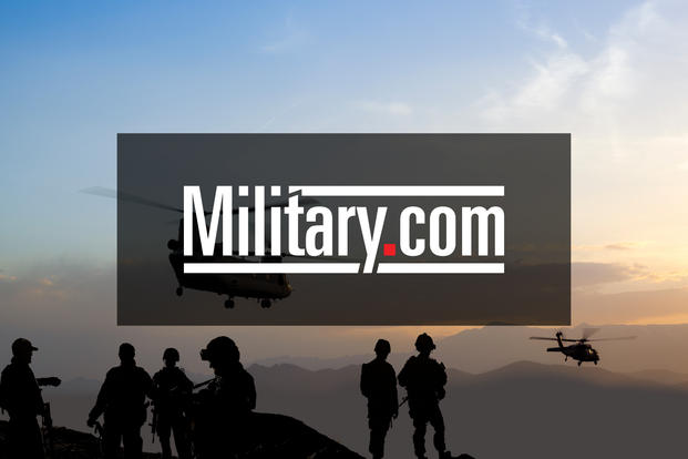 A marine and an army