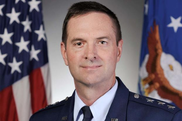 son of air force legend takes command of national guard