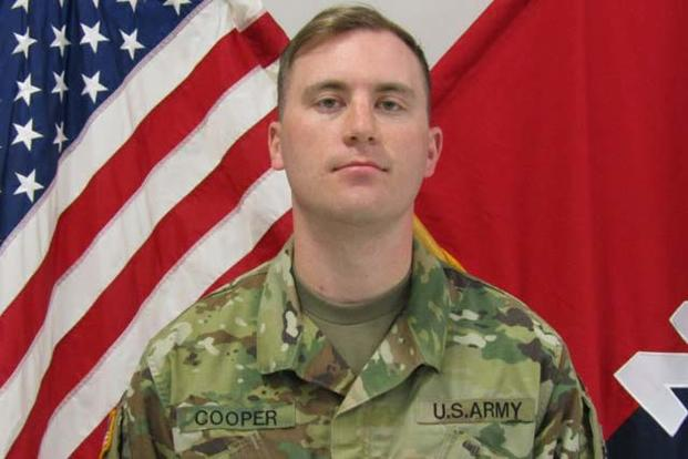 First Lt. Jeffrey D. Cooper (Army Photo)