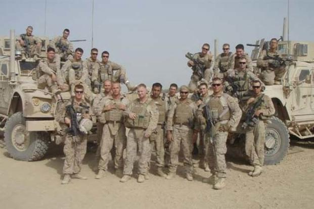 Members of Slivka's platoon are pictured with Zia in Afghanistan (courtesy photo via Fox News)