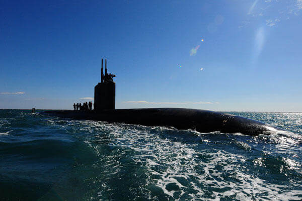 The Los Angeles-class attack submarine USS Scranton (SSN 756). Photo by Mass Communication Specialist Seaman Apprentice Cameron Bramha
