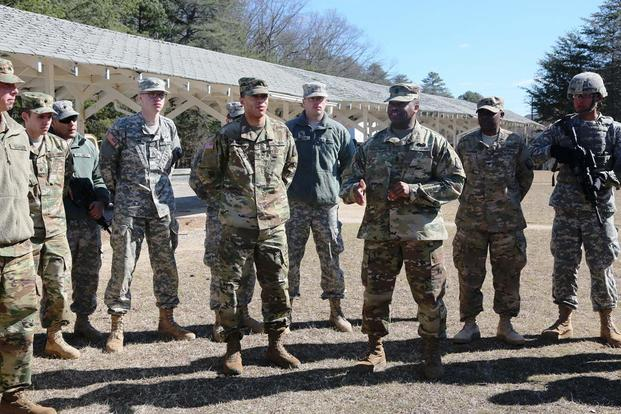 Army chap bunch joy