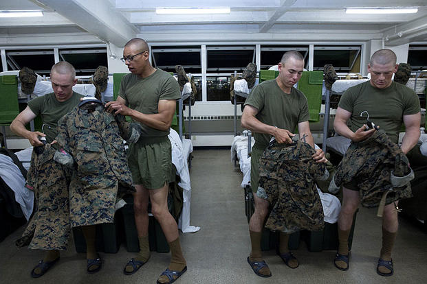 Marine Corps Ditches Desert Camouflage For Seasonal Uniforms
