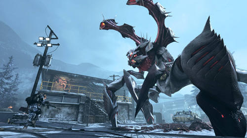 Call of Duty: Ghosts, Extinction gameplay.