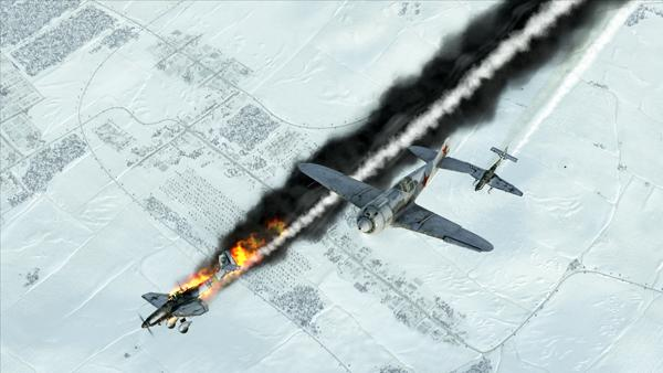 IL-2 Sturmovik: Battle of Stalingrad screenshot skies