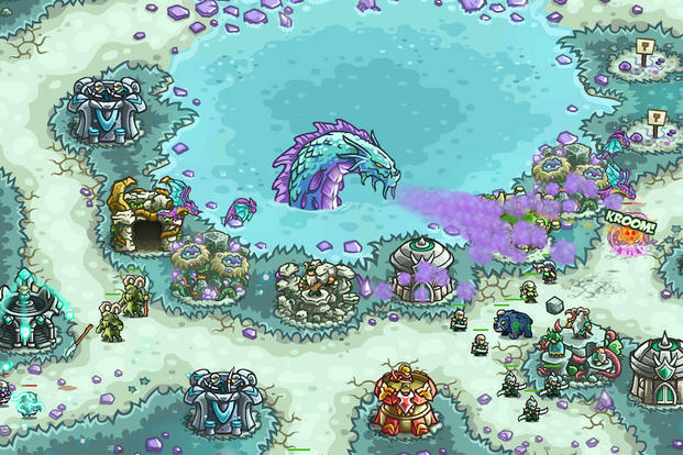 "Screenshot from ""Kingdom Rush: Origins"""