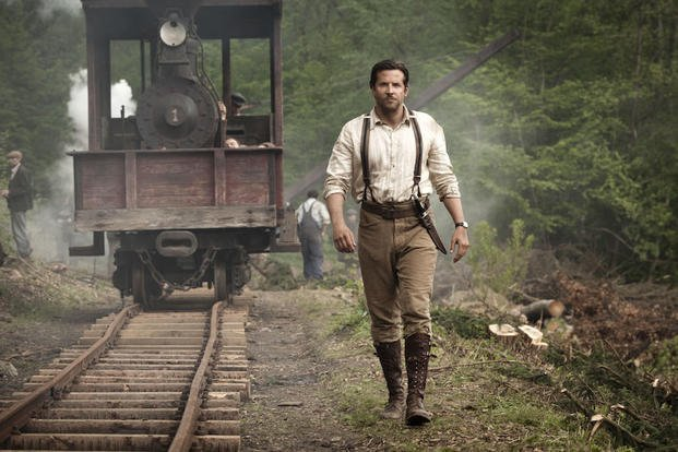 "In this image released by Magnolia Pictures, Bradley Cooper appears in a scene from ""Serena."" (AP Photo/Magnolia Pictures, Larry D. Horricks)"