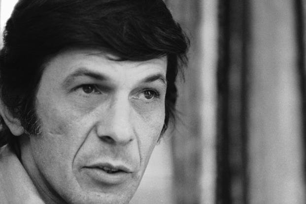 In this June 28, 1973 file photo, actor Leonard Nimoy speaks during an interview in New York.