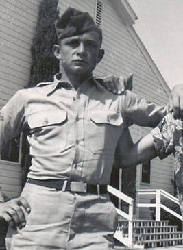 Johnny Cash in the military