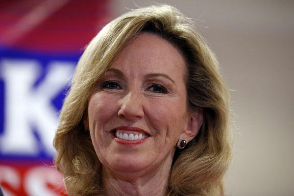 In this Nov. 4, 2014 file photo, then-Virginia Republican Congressional candidate, now Rep.-elect Barbara Comstock is seen at her election night party in Ashburn, Va. Alex Brandon/AP