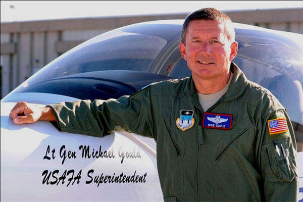Lt. Gen. Mike Gould, former superintendent of the U.S. Air Force Academy. (US Air Force photo/Mike Kaplan)