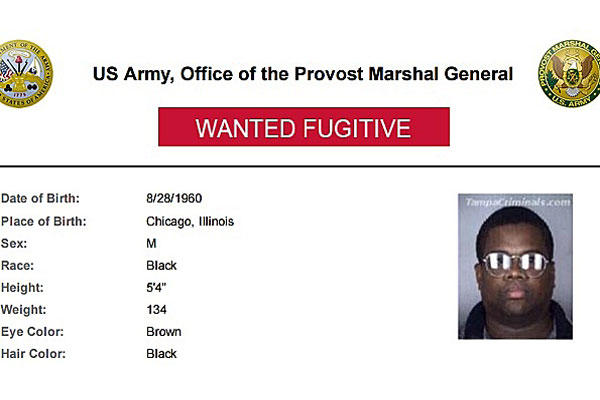 "Daryl Leandra Grigsby was on the Army's ""Most Wanted"" list."