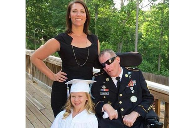 Army National Guard Master Sgt. Mark Allen was shot in the head in July 2009 while searching for Bowe Bergdahl in Afghanistan. Facebook photo
