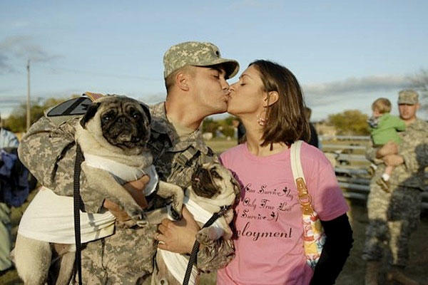 Things to know when dating an army man