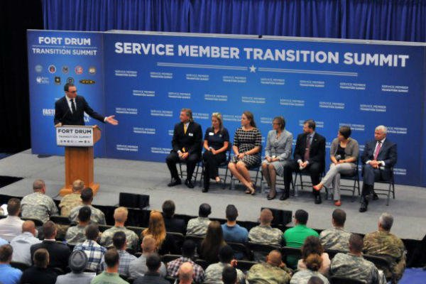 Transition summit at Fort Drum