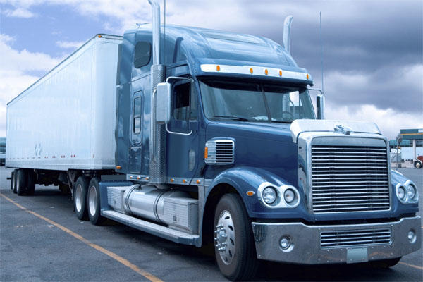 Resume Tips For Truckers. Freight Truck