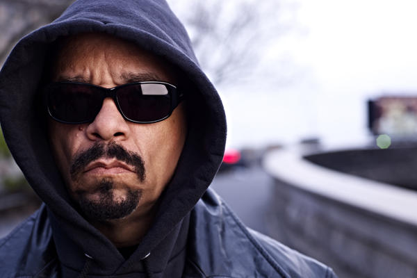 Ice-T closeup.