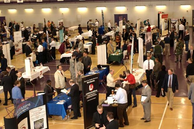 Veteran job fair.