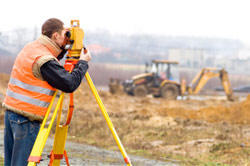 construction laser measuring device