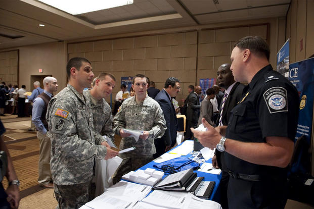 job fair with homeland security