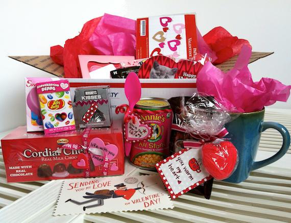 romantic care package boyfriend