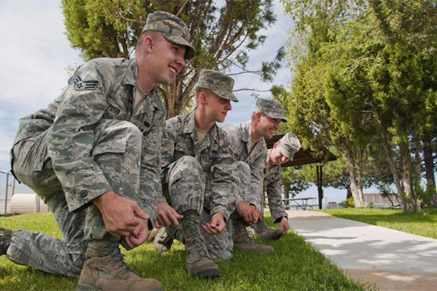 Three way military poke