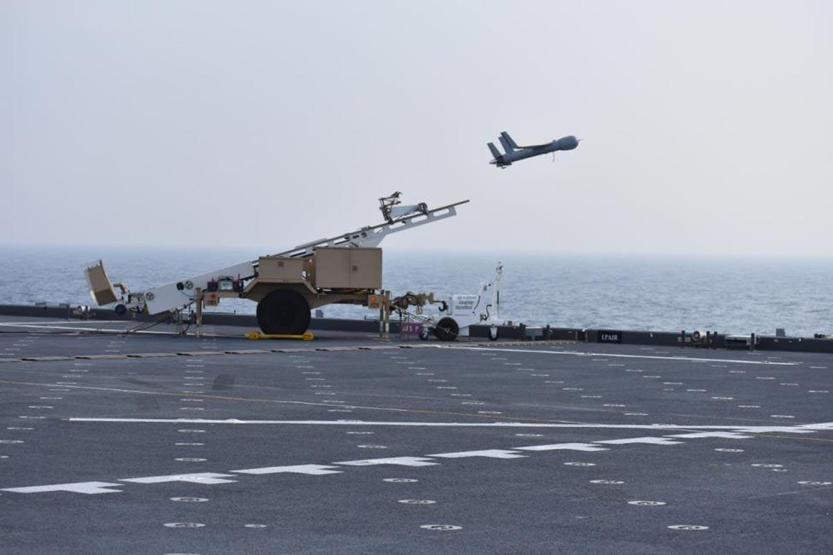 Coast Guard Commandant Boosts Plan to Outfit Cutters with ScanEagle Drones
