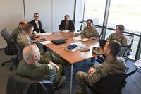 Airmen from Joint Base Andrews take part in a focus group. (Air Force photo)