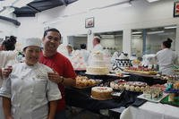 Navy veteran Luis Surla and his wife Olivia own California-based Joselle's Bakery. (Courtesy of Luis Surla)