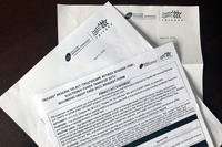 Letters received from Health Net by Amy Bushatz (Military.com)