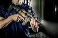 CMMG's new Mk57 Banshee AR pistol chambered for FN 5.7x28mm. (Photo: CMMG)