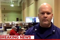 "The U.S. Coast Guard ""removed"" a member from its Hurricane Florence response team on Friday after he made an ""OK"" hand gesture on live television that the agency deemed ""offensive.""  (MSNBC via Fox News)"