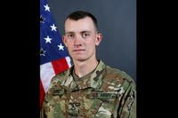 Pfc. Matthew Cox, 19, died Oct. 16 while swimming. Cox was deployed to Guantanamo Bay, Cuba, at the time. (Army)