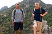 two men on a hike