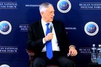 "During a Q&A session following his keynote speech, Defense Secretary Jim Mattis told defense forum attendees that Russian President Putin ""tried again to muck around in our elections this last month, and we are seeing a continued effort along those lines."""